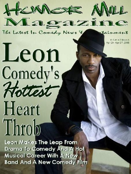 Leon Humor Mill Magazine -  - Comedy  Heart Throb
