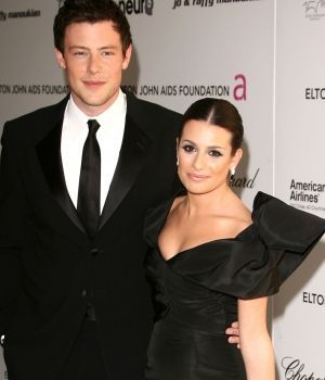 Lea Michele and Cory Monteith Event Photo (2011)