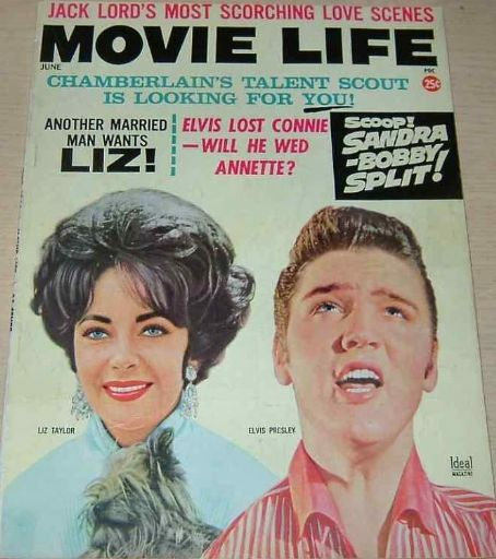 Elizabeth Taylor - Movie Life Magazine [United States] (June 1963)
