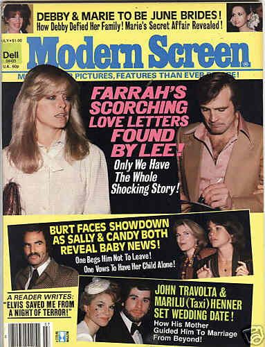 Farrah Fawcett - Modern Screen Magazine [United States] (July 1979)