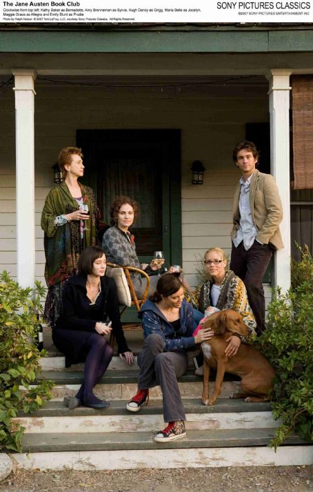 Kathy Baker Clockwise from top left:  as Bernadette, Amy Brenneman as Sylvia, Hugh Dancy as Grigg, Maria Bello as Jocelyn, Maggie Grace as Allegra and Emily Blunt as Prudie. Photo by Ralph Nelson © 2007 Tom LeFroy, LLC, courtesy Sony Pictures Classics. All