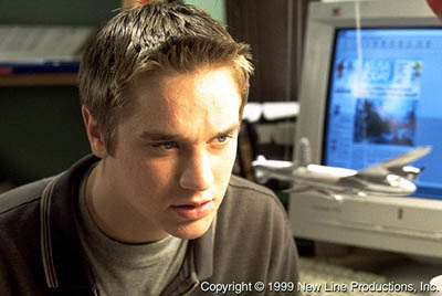Final Destination Devon Sawa in New Line's  - 2000