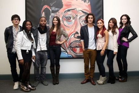 Avan Jogia - The cast of Victorious stopped by the Duke Ellington School of the Arts today, September 23, in Washington, D.C