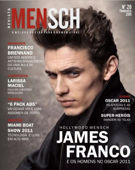 James Franco - Mensch Magazine Cover [Brazil] (26 February 2011)