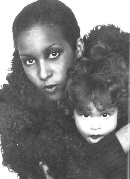 Karis Jagger Hunt Marsha Hunt and Karis Jagger,Vogue,UK,December 1972