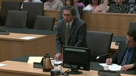 Juan Martinez  Looks Very Tense In Court