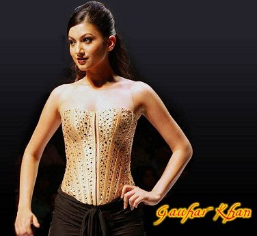 Gauhar Khan Actress  Photoshoots stills
