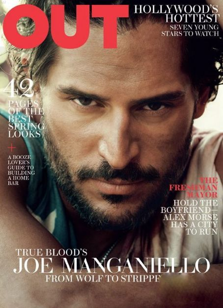 Joe Manganiello - Out Magazine Cover [United States] (March 2012)