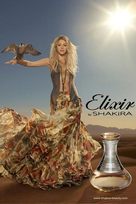 Hoping to pull in sales from a younger demographic this time around, Shakira is gearing up for the release of her third fragrance, Elixir