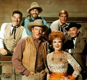 Milburn Stone The cast of Gunsmoke 1970