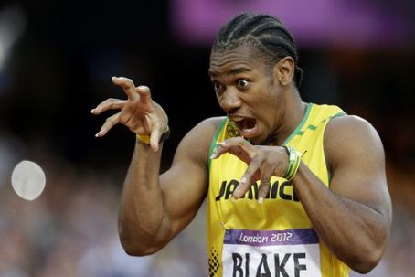 Yohan Blake London Olympic Games 2012