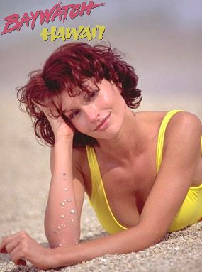 Simmone Mackinnon in Baywatch Poster (1999)