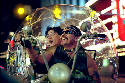 Danny Trejo Jake Gyllenhaal and  in Touchstone's Bubble Boy - 2001