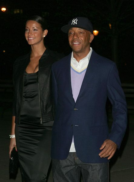 Russell Simmons and Porschla Coleman - Vanity Fair Celebrates The 2008 Tribeca Film Festival