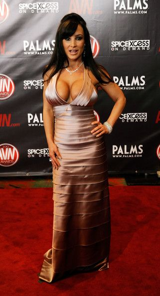 Adult film actress Lisa Ann arrives at the 27th annual Adult Video News ...