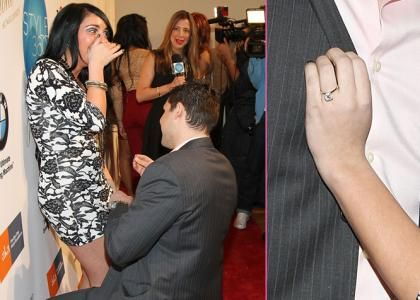 Angelina Pivarnick Gets Engaged At Fashion Week!