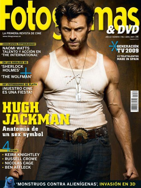 Hugh Jackman - Fotogramas Magazine Cover [Spain] (April 2009)
