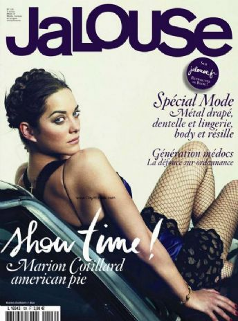 Marion Cotillard Jalouse Magazine March 2010