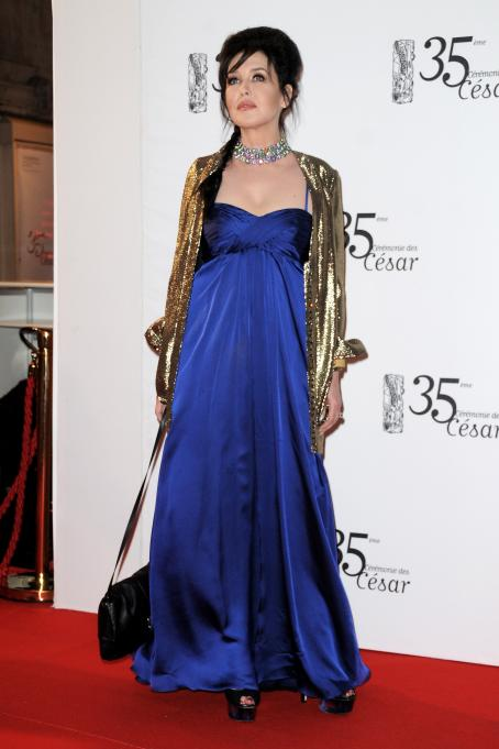 Isabelle Adjani - 35 Cesar Film Awards In Paris, 27 February 2010