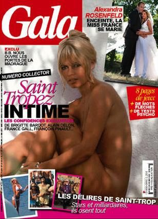 Brigitte Bardot - Gala Magazine [France] (14 July 2010)
