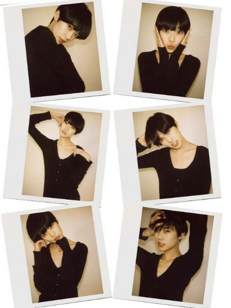 Tao Okamoto Premier Model Management  London - Polaroid