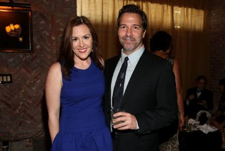 Rachael MacFarlane  & Spencer Laudiero attend the FOX Broadcasting Company, Twentieth Century FOX Television And FX Post Emmy Party at Soleto on September 23, 2012