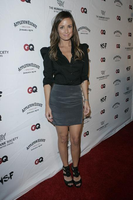 Catt Sadler - NSF, The Human Society, And The GQ Magazine Benefit To Stop Puppy Mills On September 22, 2009 In Los Angeles, California