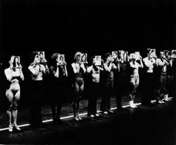 Michael Bennett A Chorus Line Original 1975 Broadway Cast