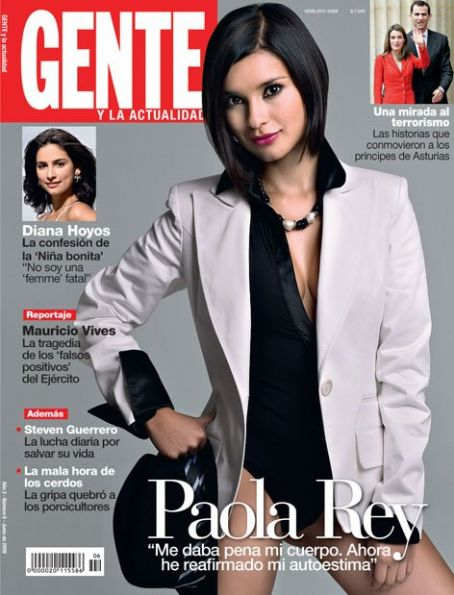 Paola Rey - Gente Magazine [Colombia] (June 2009)