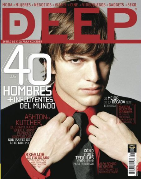 Ashton Kutcher - Deep Magazine [Mexico] (December 2009)