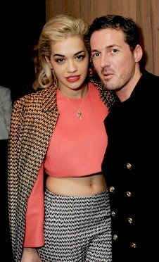 Dave Gardner and Rita Ora