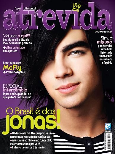 Joe Jonas - Atrevida Magazine Cover [Brazil] (May 2009)