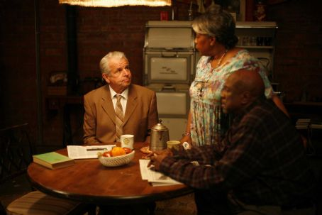 William Devane  ('Alan Beckett,' left), Starletta DuPois ('Bessie Benton,' center) and Louis Gossett Jr. ('Samuel Benton,' right) star in Lionsgate Home Entertainment's The Least Among You.