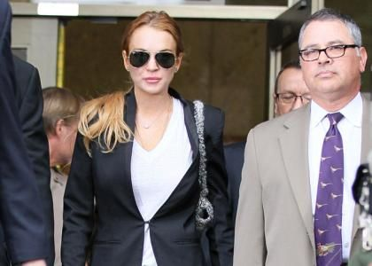 Lindsay Lohan Finishes Up Rehab Stay