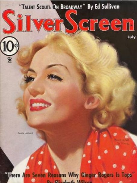 Carole Lombard - Silver Screen Magazine [United States] (July 1935)