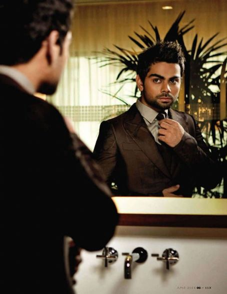Virat Kohli  GQ India June 2011