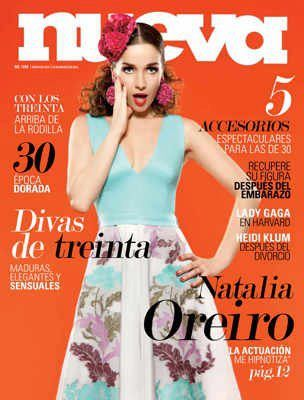 Natalia Oreiro - Nueva Magazine Cover [Argentina] (March 2012)