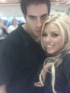 Brittney Skye Eli Roth and  when they were a couple in 2006
