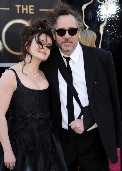 Helena Bonham Carter and Tim Burton At The 85th Annual Academy Awards (2013)