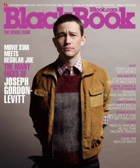 Joseph Gordon-Levitt - Black Book Magazine Cover [United States] (October 2011)