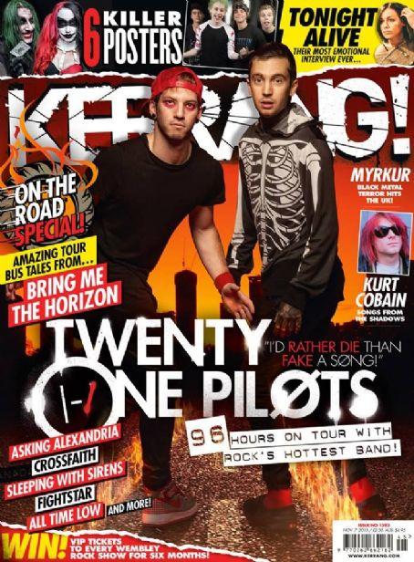 Twenty One Pilots Josh Dun Tyler Joseph Kerrang Magazine 07