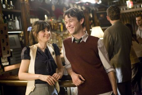 Joseph Gordon-Levitt and Zooey Deschanel - Zooey Deschanel and Joseph Gordon-Levitt in Fox Searchlight Pictures' (500) Days of Summer. Photo Credit: Chuck Zlotnick.