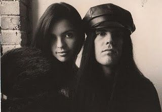 Ian Astbury  and Renee Beach