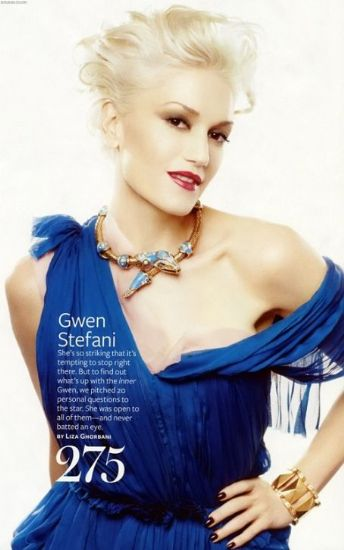 Gwen for InStyle Magazine
