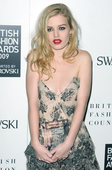 Georgia Jagger - British Fashion Awards - Press Room