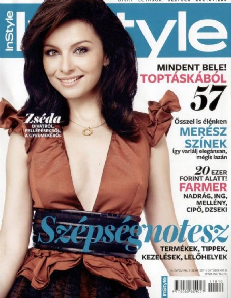 Adrienn Zsédenyi - InStyle Magazine Cover [Hungary] (October 2011)