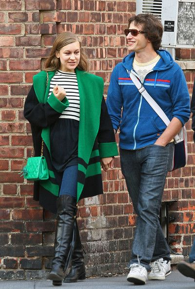 Joanna Newsom - Andy Samberg and his Girlfriend holding hands while