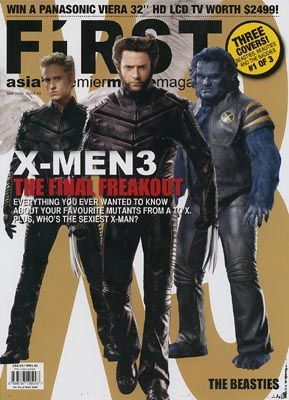 Hugh Jackman - First Magazine [Singapore] (May 2006)