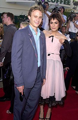 Heath Ledger and Shannyn Sossamon