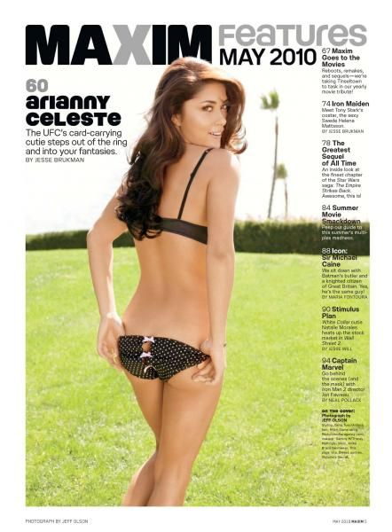 Arianny Celeste  Maxim Magazine Pictorial May 2010 United States